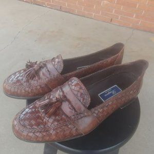 Cole Haan Bragano size 14 Braided  tassel Loafers